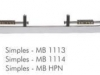 ARGENTINO SIMPLES MB 1113 / 1114